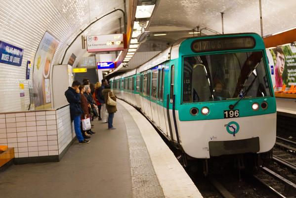 9/20/2013: Paris' subway.