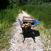 8/4/2013: Hammonds Ferry to Annapolis Road access lane. Wheelbarrow load #5 of 7.