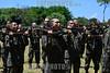 2013-02-22 OS 124 ALUNOS DO ITA APROVADOS NO VESTIBULAR INICIARAM ONTEM E TERMINARAM HOJE UM TREINAMENTO NO CPOR COMO PARTE DAS ATIVIDADES , NA SEGUNDA PROXIMA INICIA AS AULAS NO ITA COM A PRESENCA DO MINISTRO DA DEFESA NA AULA MAGNA / Instruccion militar / Women in the military / Brasilien : Militärische Ausbildung  © Lucas Lacaz Ruiz/LATINPHOTO.org