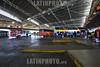 2013-01-30 VISTA GERAL DE SANTIAGO DO CHILE .  <br /> RODOVIARIA DE SANTIAGO E TERMINAL SAN BORJA /  Estacion de autobus - Transporte publico / Busterminal SAN BORJA in Santiago de Chile - Busbahnhof - Öffentlicher Verkehr © Lucas Lacaz Ruiz/LATINPHOTO.org