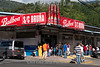 Panama : Bajo Boquete en la provincia de Chiriqui / Small town Boquete in western - most Chiriqui Province / Werbung für Balboa Bier in Bajo Boquete in der Provinz Chiriqui im Bezirk Boquete © LATINPHOTO.org