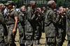 BRASIL - 2013-02-22 OS 124 ALUNOS DO ITA APROVADOS NO VESTIBULAR INICIARAM ONTEM E TERMINARAM HOJE UM TREINAMENTO NO CPOR COMO PARTE DAS ATIVIDADES , NA SEGUNDA PROXIMA INICIA AS AULAS NO ITA COM A PRESENCA DO MINISTRO DA DEFESA NA AULA MAGNA / Instruccion militar / Women in the military / Brasilien : Militärische Ausbildung - Frauen im Militär © Lucas Lacaz Ruiz/LATINPHOTO.org