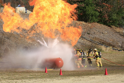 New Boston FD Propane training 11/02/2013