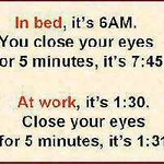 bed v work