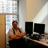 Tom at NYC Twitter Office