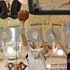 Rob Winner – rwinner@shawmedia.com<br /> <br /> Sycamore's Ben Niemann (20) puts up two points with a shot in the second during the Class 4A Freeport Sectional semifinals in Freeport, Ill., Thursday, Mar. 7, 2013.