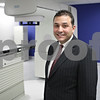 Rob Winner – rwinner@shawmedia.com<br /> <br /> Dr. Kevin Khater is seen standing near a linear particle accelerator at the newly opened John Wentworth Cancer Research Center in Sandwich, Ill., Thursday, Feb. 28, 2013.