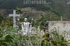 Venezuela : Cementerio General del Sur / South General Cemetery in  Caracas / Friedhof Cementerio General del Sur in Caracas - Grabkreiz - Jesus © Alexander Sánchez/LATINPHOTO.org