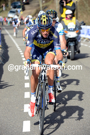 Roman Kreuziger has jumped from the peloton to the chase, and then to the front of the race...