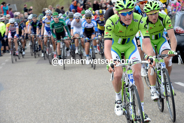 Cannondale is doing all the chasing for now...