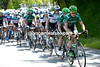 Europcar are about to hand over the chasing duties to another team with 65-kilometres to go...
