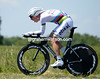 Tony Martin stormed to victory with a speed of almost 53-kilometres-per-hour...