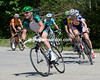 Voeckler's escape now features six cyclists, and the gap to the peloton is growing...