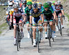 Thomas De Gendt and Jurgen Van Den Broeck lead the escape over the summit of Alpe d'Huez and on to the Col de Sarenne...