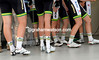 The legs of the Australian cyclists carry a team of near-favourites to the sign-on board...