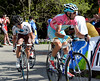 Nibali follows without trouble, but he has Betancur on his wheel...