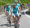 Astana seem happy to let the escape stay away, but with no more time-gains...