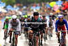 Mark Cavendish wins stage twelve from Nacer Bouhanni and Luka Mezgec