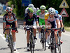 Lars Bak leads the day's tactical escape - they gain twelve minutes in 50-kilometres...
