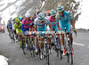 It's snowing on the Astana-led group of favourites...