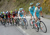 Astana looks worried as it chases the two escape groups...