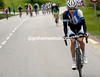Wilco Kelderman is on the attack along the valley of Frejus..