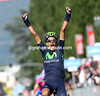 Benat Intxausti has won stage sixteen from Tanel Kangert and Przemyslaw Niemiec..!