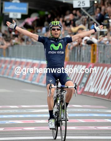 Giovanni Visconti wins stage seventeen into Vicenza..!