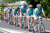 Astana has the honour of escorting the peloton into Brescia for seven laps of the city...