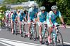 Astana has the honour of escorting the peloton into Brescia for seven laps of the city...