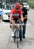 Mark Cavendish is getting some help from Omega manager, Davide Bramati...