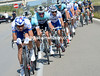 FDJ are chasing now, they have Nacer Bouhanni wanting to beat Mark Cavendish today...