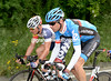 David Millar and Adam Hansen compare their Giro fortunes - Hansen has won a stage, Millar sits in 190th place overall...