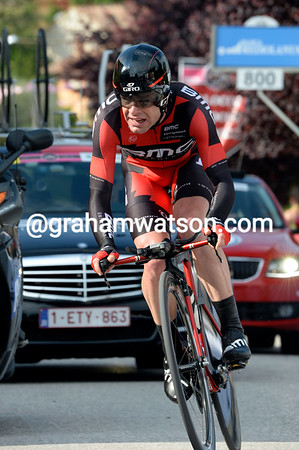 Cadel Evans took seventh place, 39-seconds down - he's moved into 2nd place overall..!