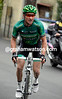 Thomas Voeckler has attacked on the lake-road and starts the Madonna del Ghisallo in a very optimistic escape with 50-kilometres to go..!