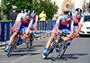 """The Adria Mobil team broke into the top 20, finishing 4' 34.50"""" down on the winners..."""