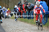 Luca Paolini sets off in pursuit of Van Avermaet, and the Chavanel escape...