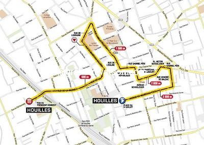 Paris-Nice Prologue: Houlilles > Houilles, 2.9kms