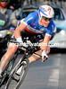 Sylvain Chavanel raced into 2nd-place in Houilles, he was just one-seconds off the fastest time..!