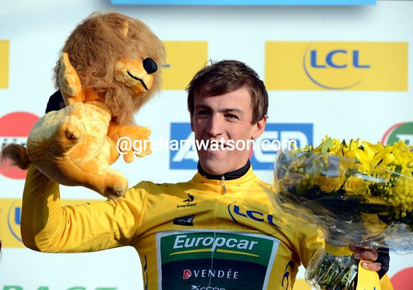 Damien Gaudin is the first race-leader of the 2013 Paris-Nice..!