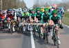 Europcar resume their place at the head of the race with no escape left to chase -is Gaudin aiming to sprint for another win in Nemours..?