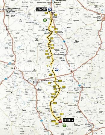 Paris-Nice Stage 2: Vimoury > Cerilly, 200kms