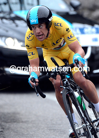 Richie Porte stormed the Col d'Eze to win the stage at an average speed of almost 30-kilometres-per-hour..!