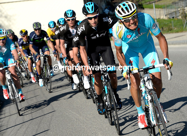 Andrey Zeits is continuing Astana's assault on the stage - Burghardt has no chance of winning..!