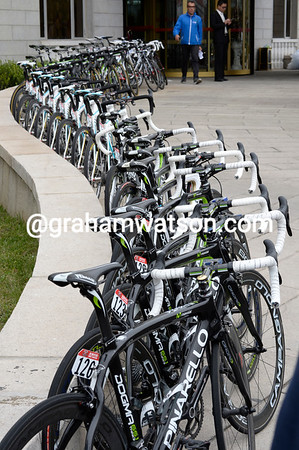 The season's almost over, lots of bikes for sale - one careful owner of each bike...