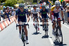 A new four-man escape has gone ahead on the first climb - Capecchi, Roelandts, Herrada and Bonnafond...