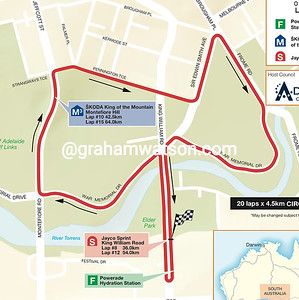 Stage 6 Adelaide City Circuit, 90kms