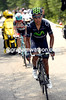 Sky has been chasing Quintana, who's caught and passed Bakelandts with ten-kilometres of climbing to go...