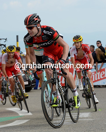 "Cadel Evans will lose 8' 46"" and fall to 16th overall..."
