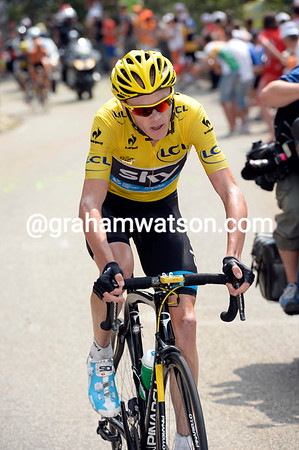 Chris Froome has suddenly shot away from his G.C rivals at the Chalet Reynard, he'll catch Quintana very quickly..!